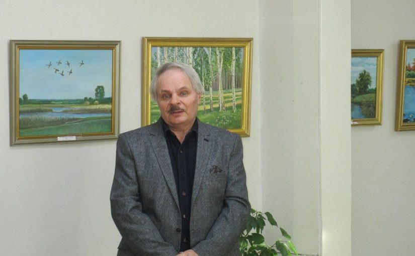 25 января в Кораблинском краеведческом музее состоялось открытие выставки живописи Шлепова Вячеслава Николаевича