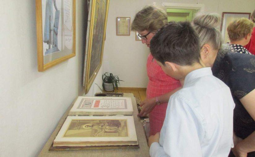 В Кораблинском краеведческом музее начала свою работу выставка «Ученье – свет»
