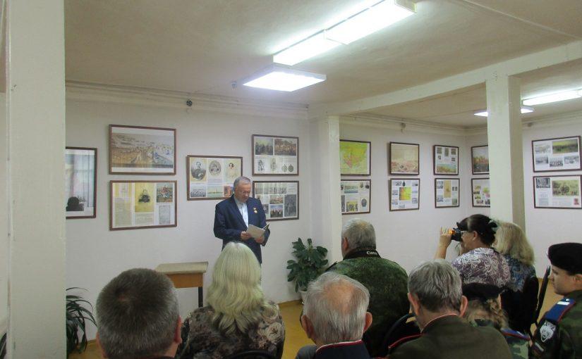 4 ноября в Кораблинском краеведческом музее прошла встреча «О том, что нас объединяет в стихах и песнях говорим»
