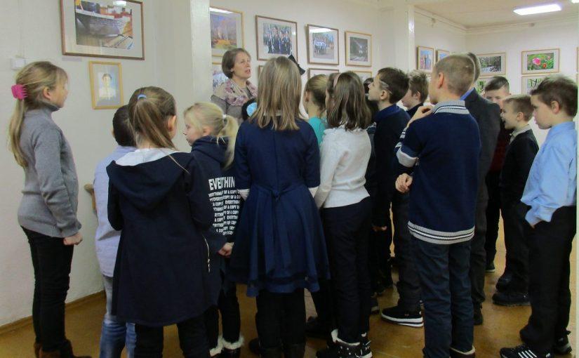 Предновогодняя акция для детей в музее