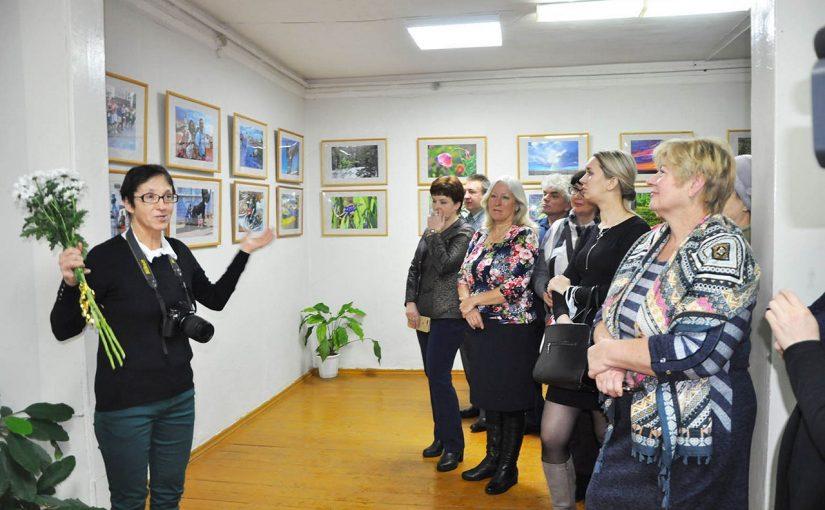 Открытие персональной фотовыставки Т.П. Браткиной