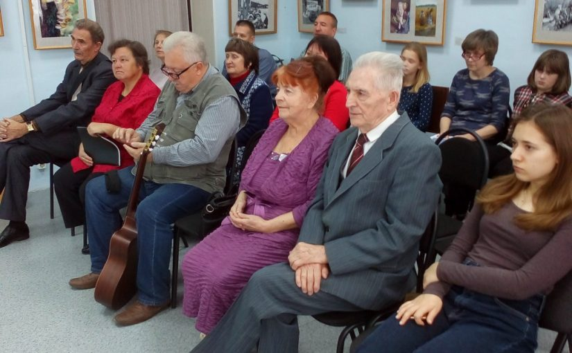 Встреча в Кораблинском краеведческом музее с поэтами литературного объединения «Кораблинские родинки» — «Над Россией Покров Богородицы»